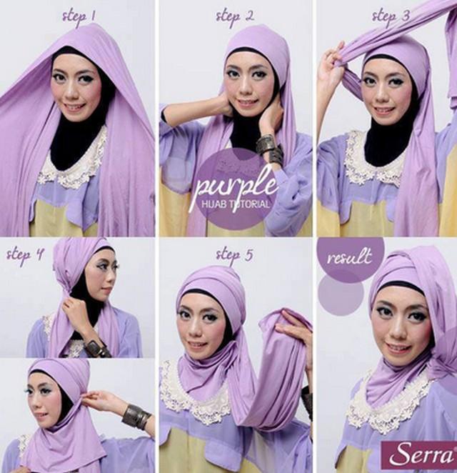 Tutorial Hijab Pashmina Model Baru Maulidya Yuseini